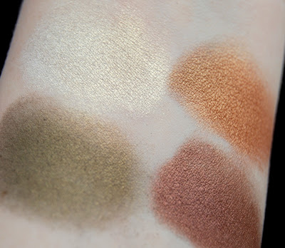 LORAC TANtalEYES Baked Eye Shadow Palette Swatches