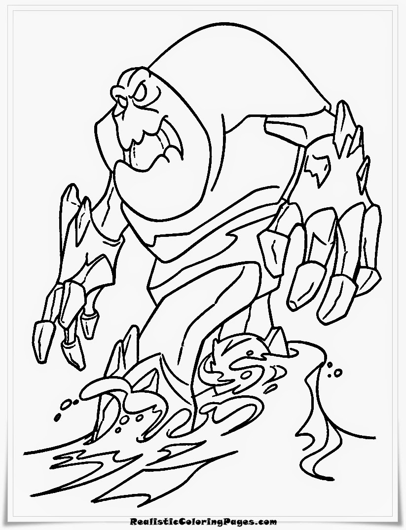 snowman monster from frozen the movie coloring pages