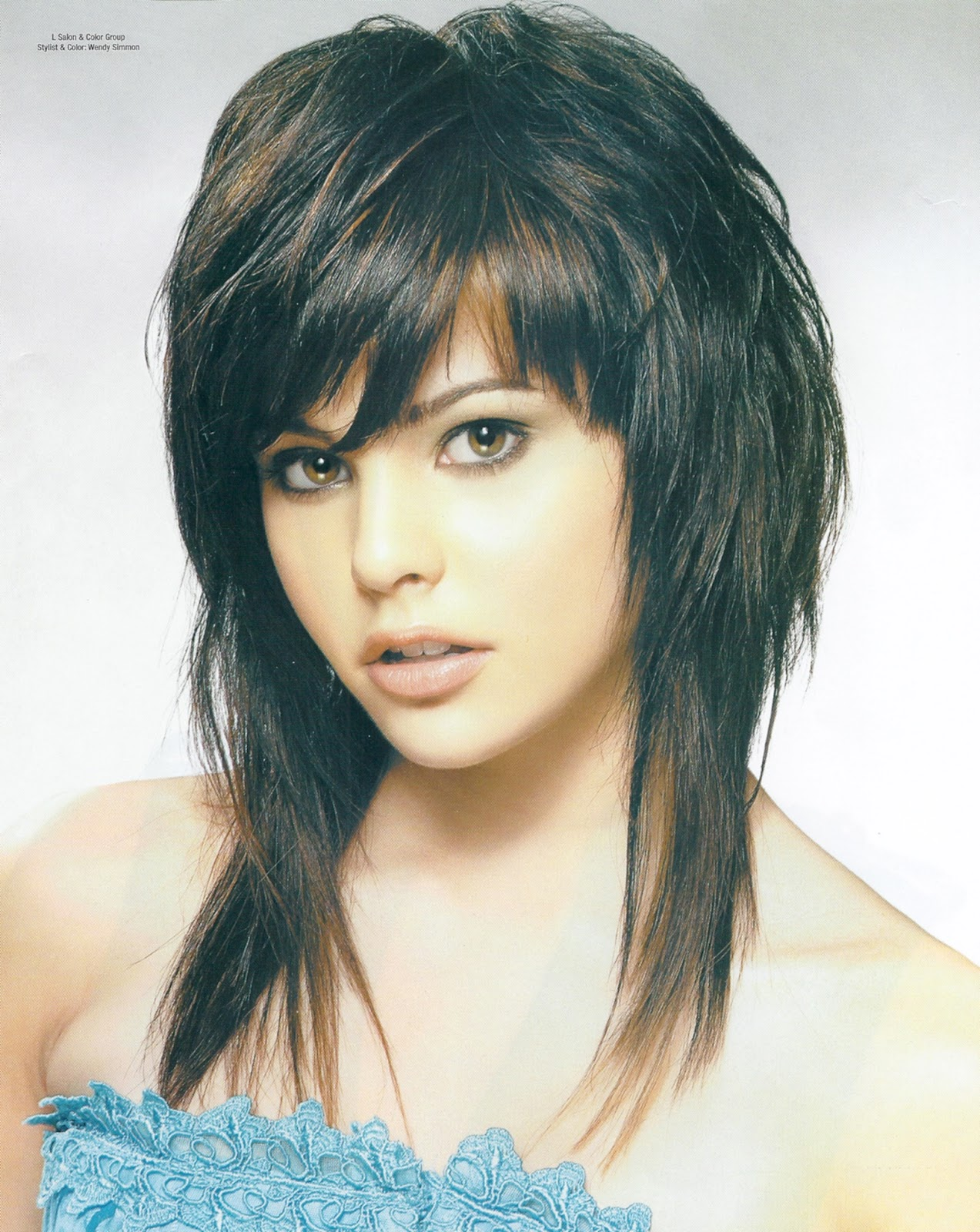 Medium Length Haircut And Hairstyles Ideas 2013 Free Gallery