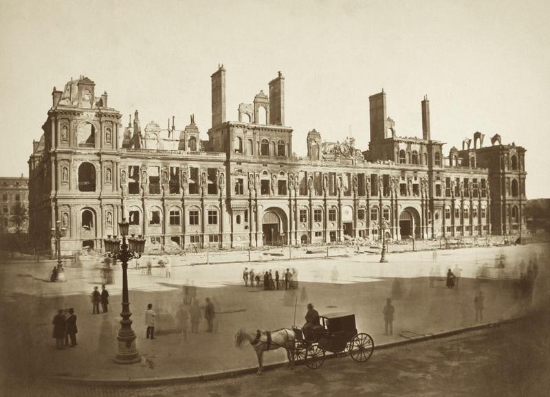 A guide to the ruins of paris invisible paris for Hotel deville paris