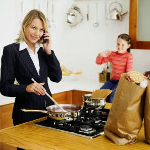 working-mom-busy-cooks-mom-Do Working Moms Raise Healthier Kids