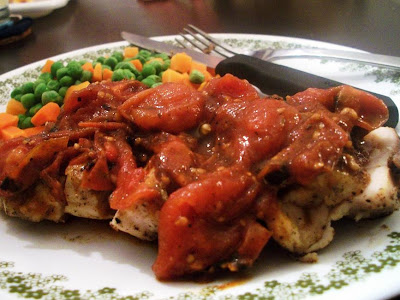 Simply Shlee: Chicken with Tomato-Herb Pan Sauce