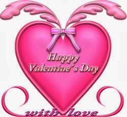 ハート型バレンタインのプレート状イラスト無料