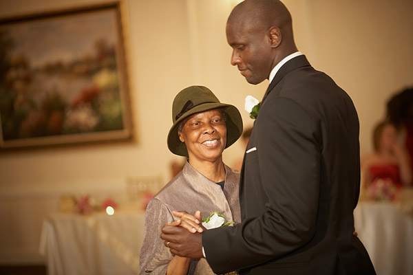 kirkbrae country club wedding: mother son dance
