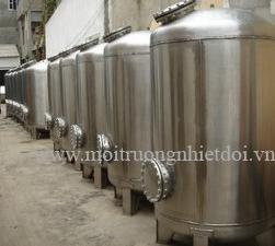 Thiết bị lọc áp lực xử lý nước giếng khoan