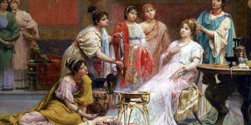 historia maquillaje roma