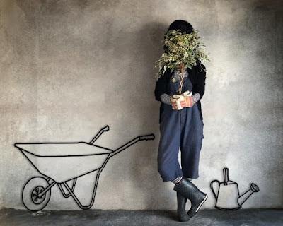 gardening mum