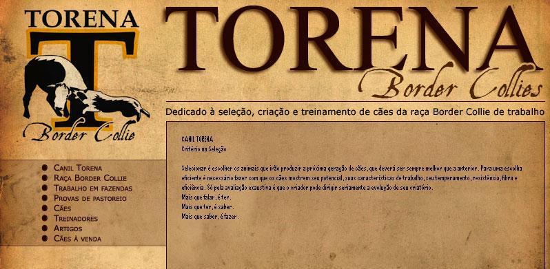 CANIL TORENA  - Criterio na Seleção -