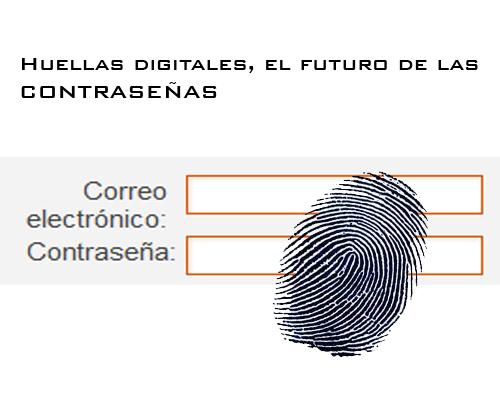 Huellas Digitales, el FUTURO de las contraseñas.