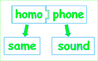 Homophones Meaning and Examples