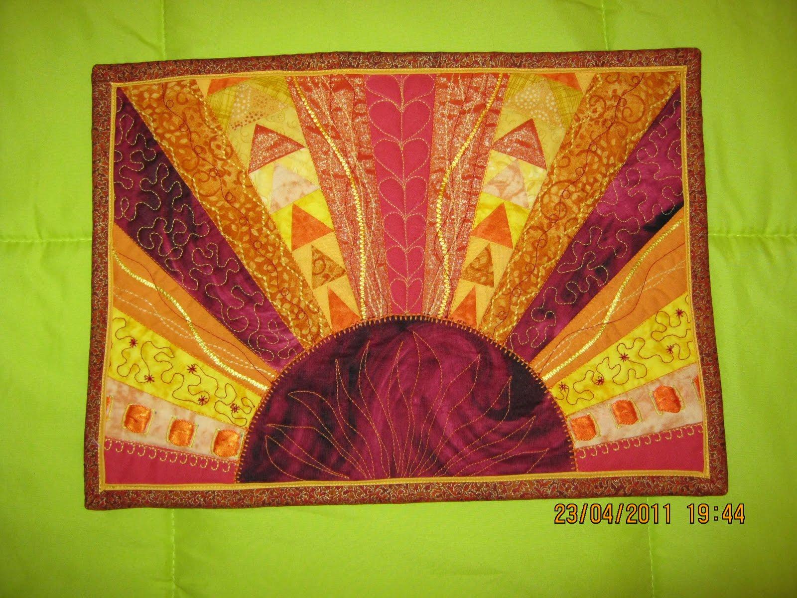 Creaciones artisticas nessy cursos patchwork - Tecnicas de patchwork a mano ...