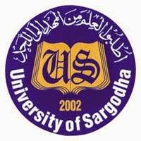 Sargodha University MA Result 2016 Part 1, Part 2