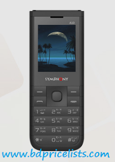 Symphony A10 Mobile Specifications And Price In Bangladesh