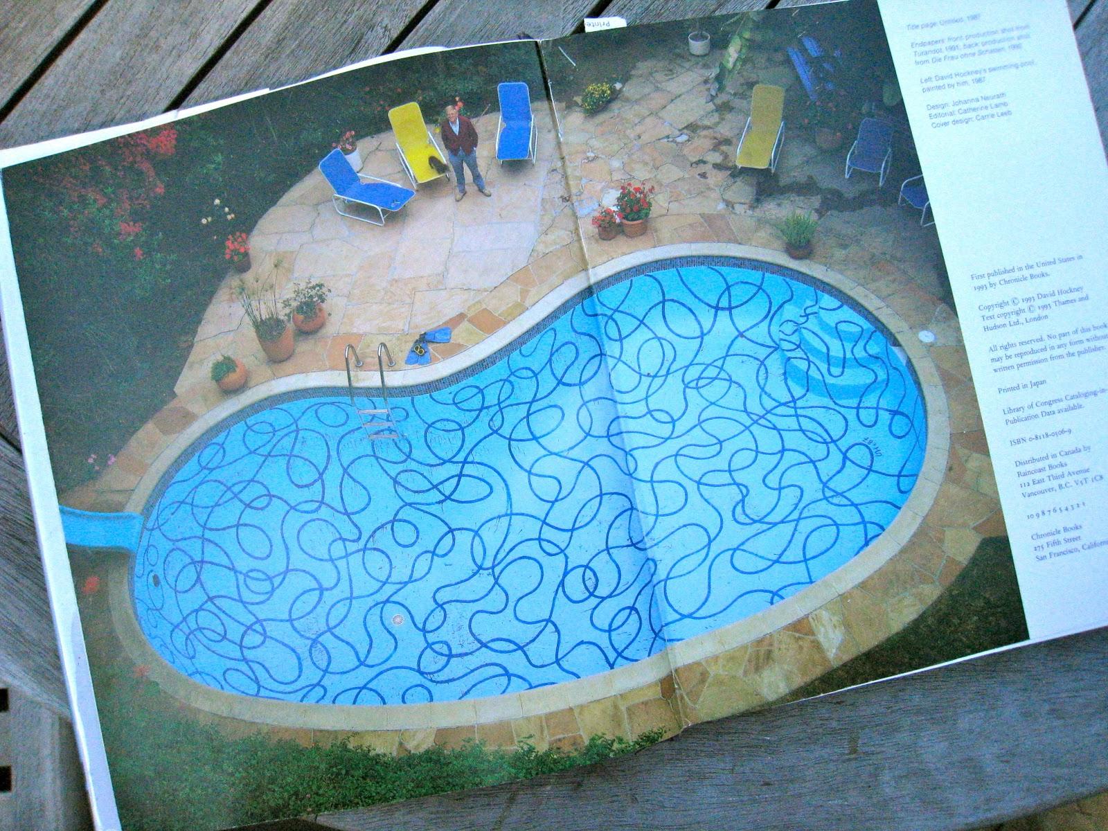 Artist David Hockney 39 S Pool Art Pinterest