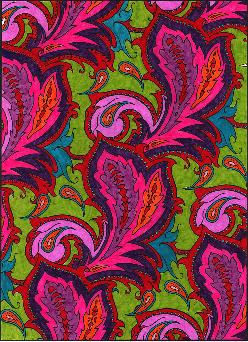 Paisley Designs By Marty Noble