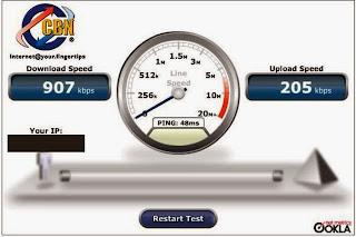 cek kecepatan internet