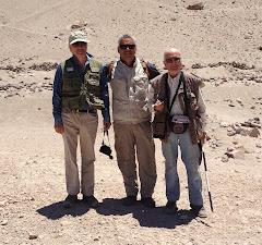 En la ruta del Inca. Con los arqueólogos José Berenguer y Carlos González