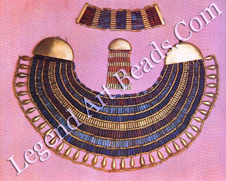 Broad Collar, counterpoise and bracelet of Princess Ita-weret, from Dahshur