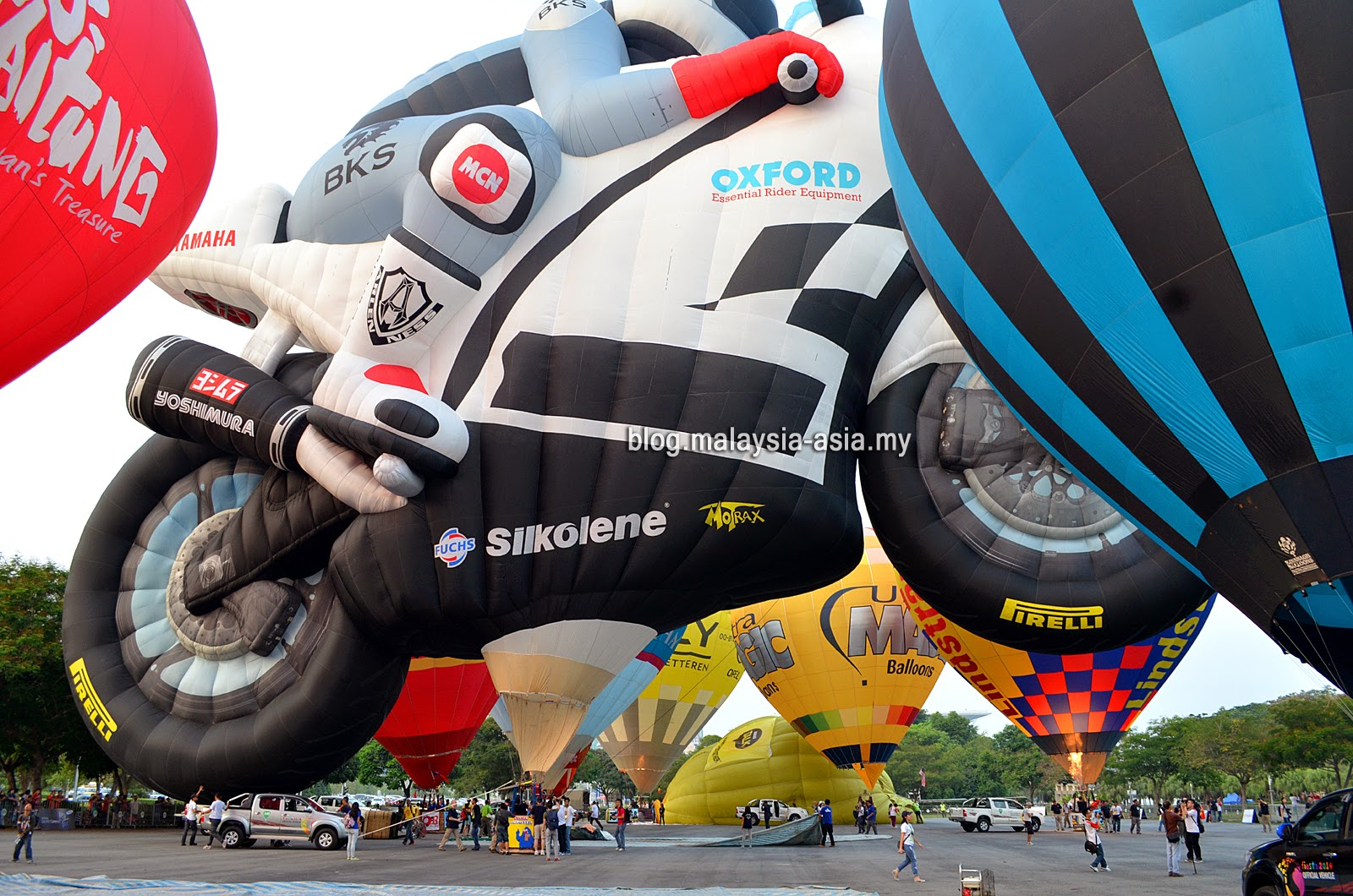 Racing Motorbike Hot Air Balloon Putrajaya