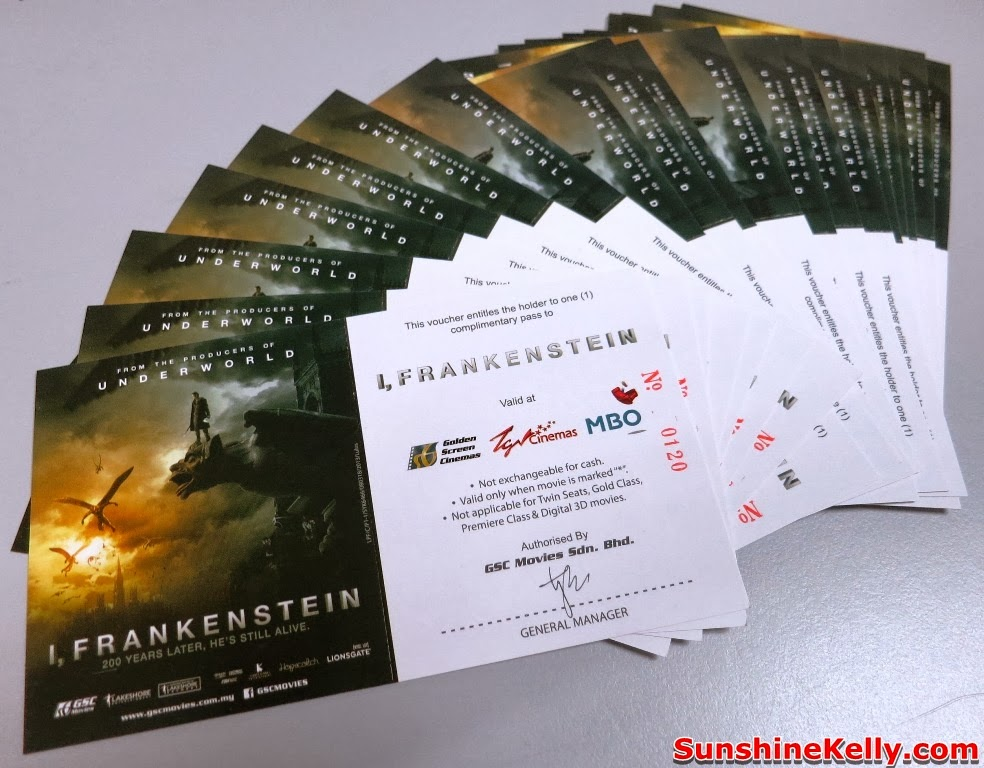 Giveaway, I Frankenstein, Movie Passes, free movie, movie, contest,