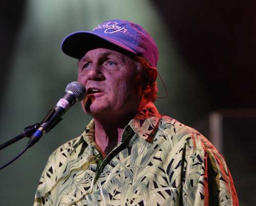 Beach Boys singer Bruce Johnston was signing autographs for fans in New York ...