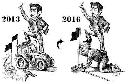Γελοιογραφία : Πρίν και μετά IaTriDis
