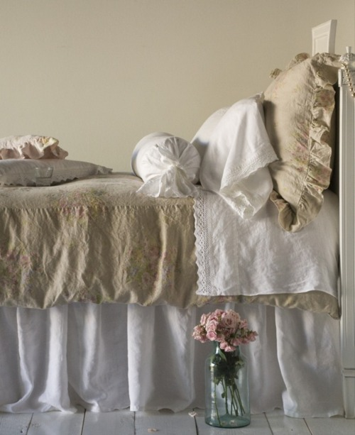 Cottage shabby chic bedding Etsy