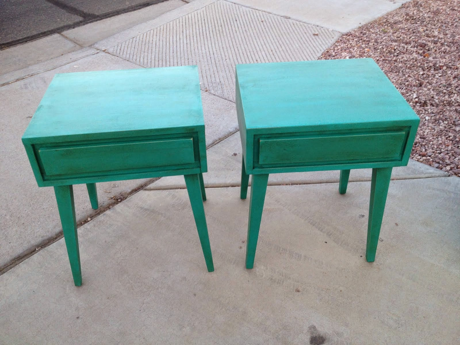 Shabby Chic End Tables  *SOLD*