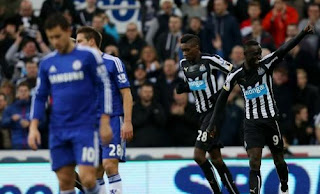Newcastle United vs Chelsea 2-2