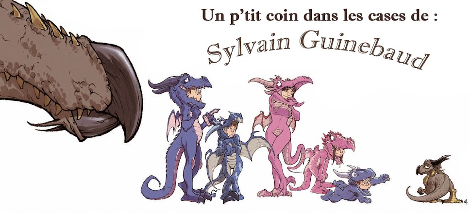 Un p&#39;tit coin dans les cases de Sylvain Guinebaud....