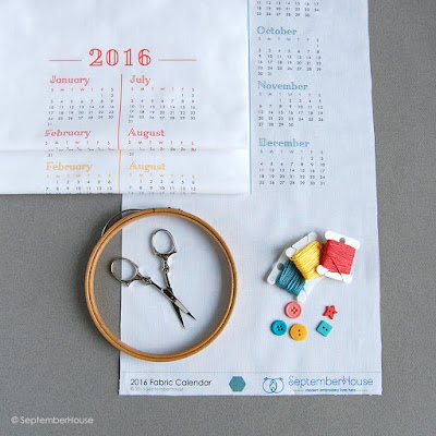 2016 Fabric Calendar DIY Kit
