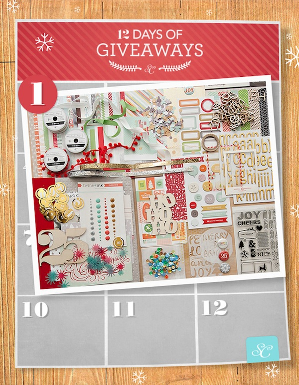 Studio Calico 12 Days of Giveaway