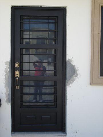 Maquinados y paileria mapaza puertas principales for Puertas de herreria para interiores