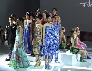 Kumpulan Foto Model Batik Pekalongan Oriental Trend 2016