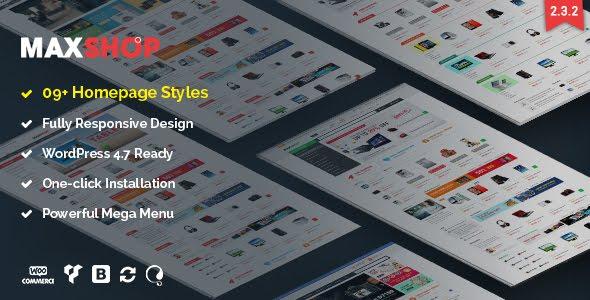 MaxShop[Theme Wordpress bán hàng tốt nhất]