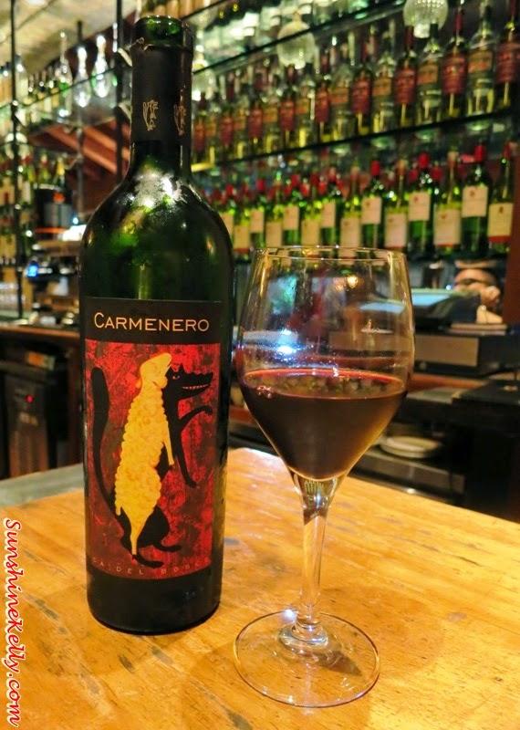 red wine, Ca'del Bosco CarmeneroI, santa margherita, talian Dining Experience, Santa Margherita Wine Dinner, Villa Danieli, sheraton imperial kl, food review, food wine pairing