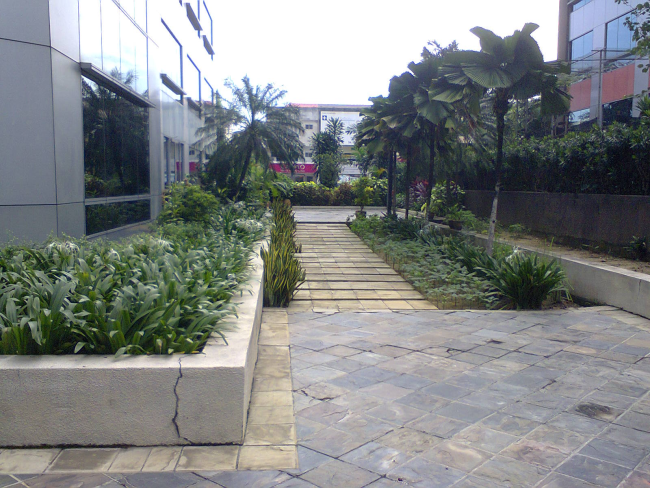 Damansara Uptown secret garden path between Uptown 3 and Uptown 5