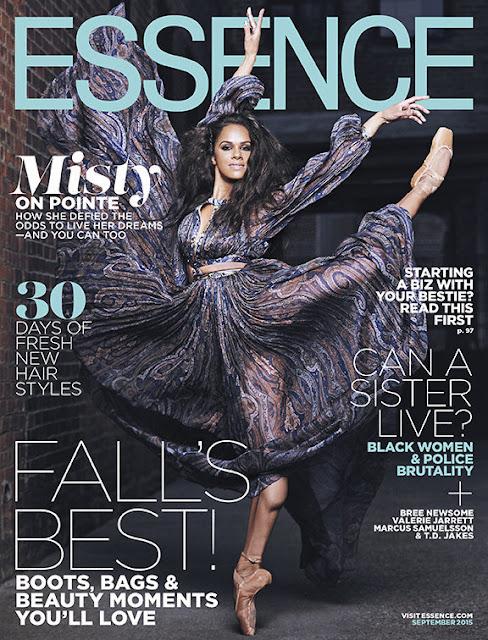 Ballet Dancer @ Misty Copeland - Dennis Leoupold for Essence September 2015