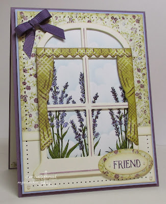 ODBD Lavender, ODBD Custom Window Die Set, Card Designer Angie Crockett