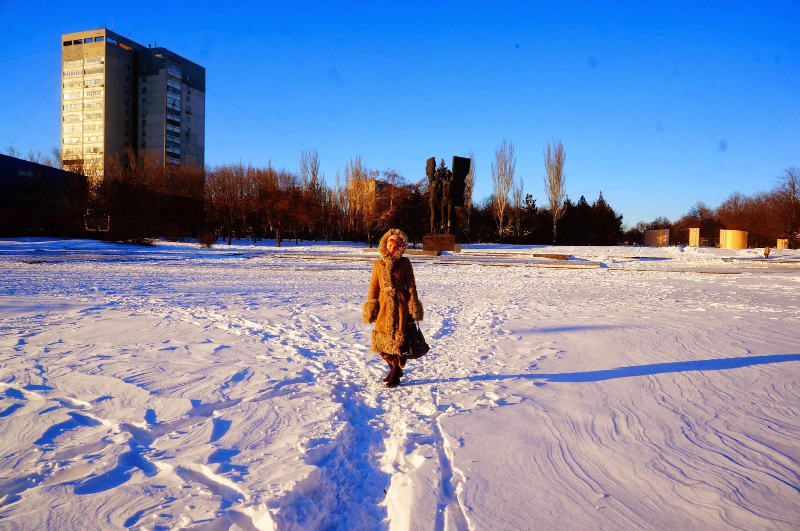 Зима Ростов 2014