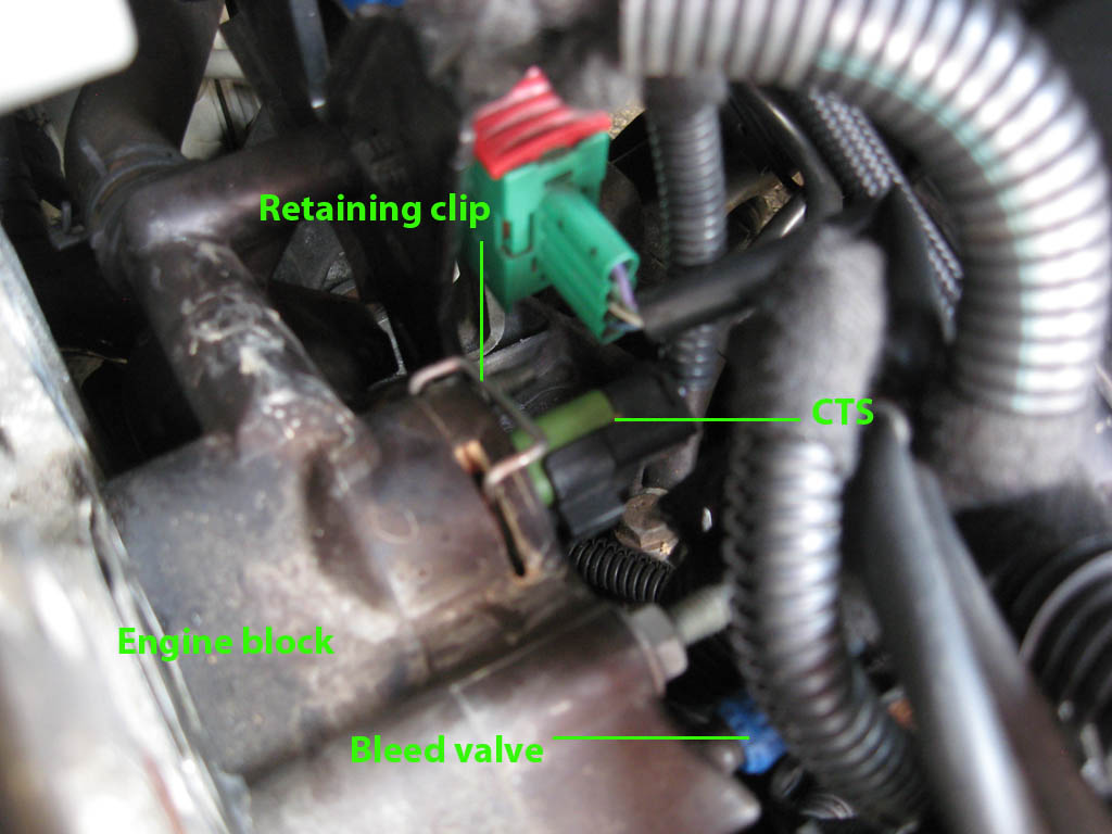 Peugeot 307cc Fixes Waterlogged Ecu Fix Volvo Power Steering Pump Wiring Diagram Fig2 Youll Need To Move The Wires From Area As Theres Not Much Space