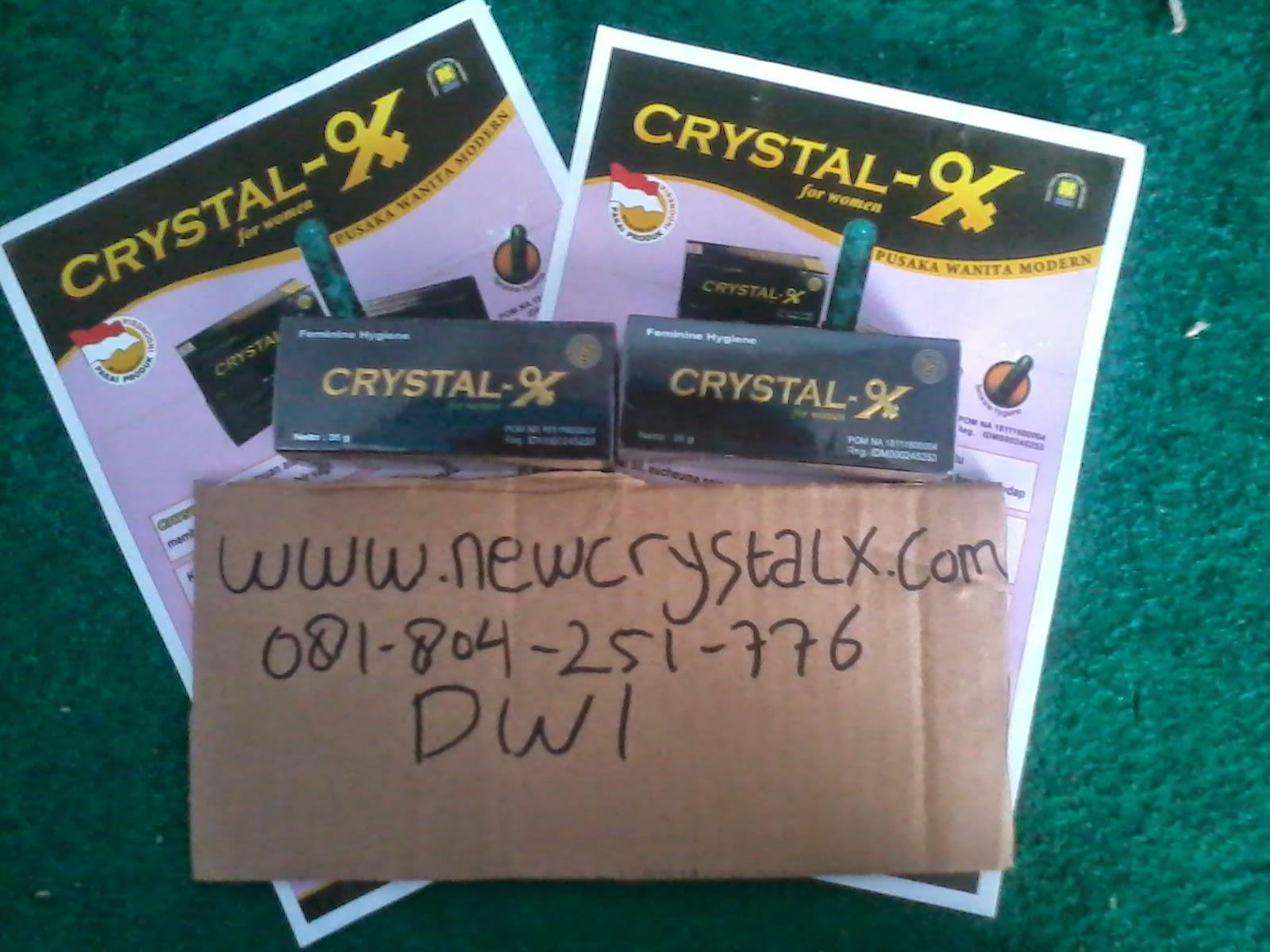 pengiriman peket crystal x