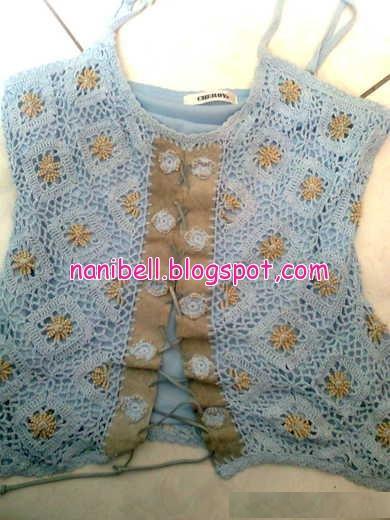 customizaçao em croche