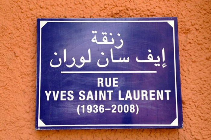 yves saint laurent marrkech
