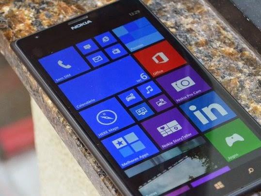 Lumia 1520 rodando Windows Phone 8
