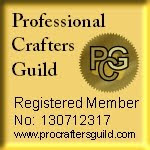 We are proud members of the Professional Crafters Guild