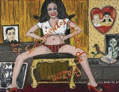Los sentimientos ciegan la razón, Agustí Garcia, Bad Painting, Pinturas, Agustí Garcia Monfort,