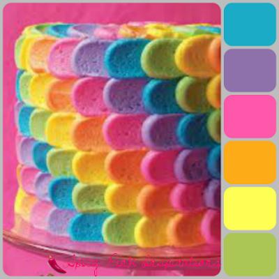 Rainbow Bright | www.SpicyPinkInspirations.com