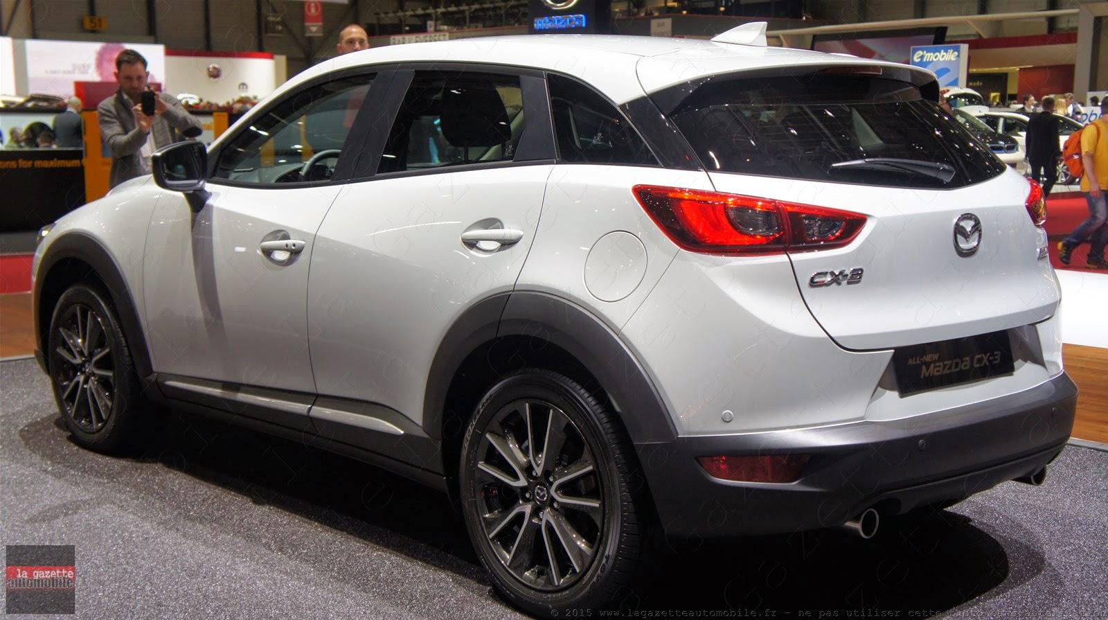 Genève 2015 Mazda CX-3