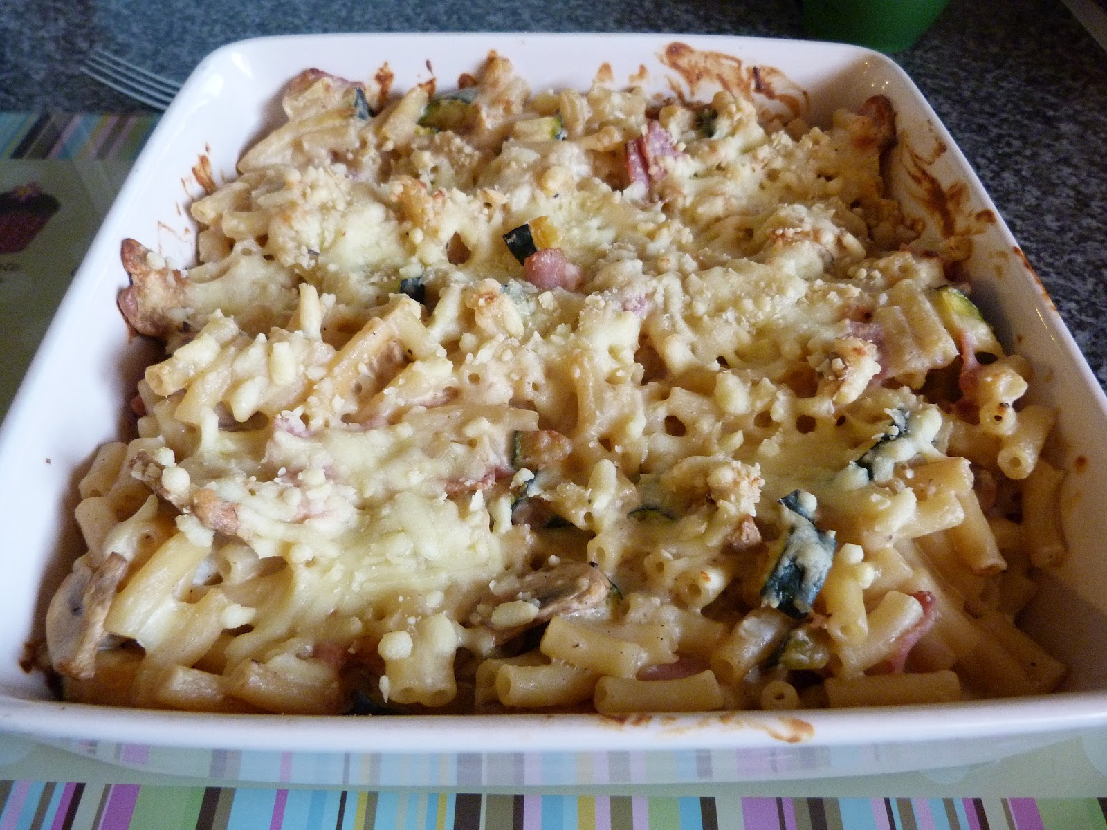 Given To Distracting Others: Macaroni Cheese with Ham ...
